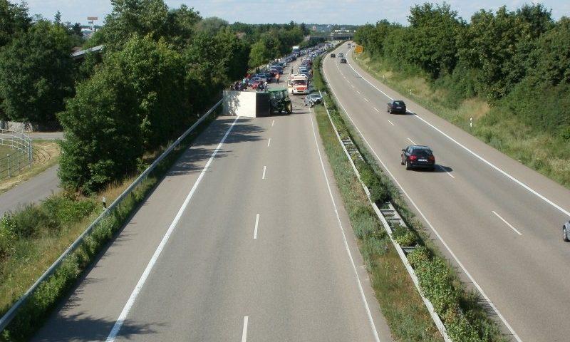 snelweg ongeluk