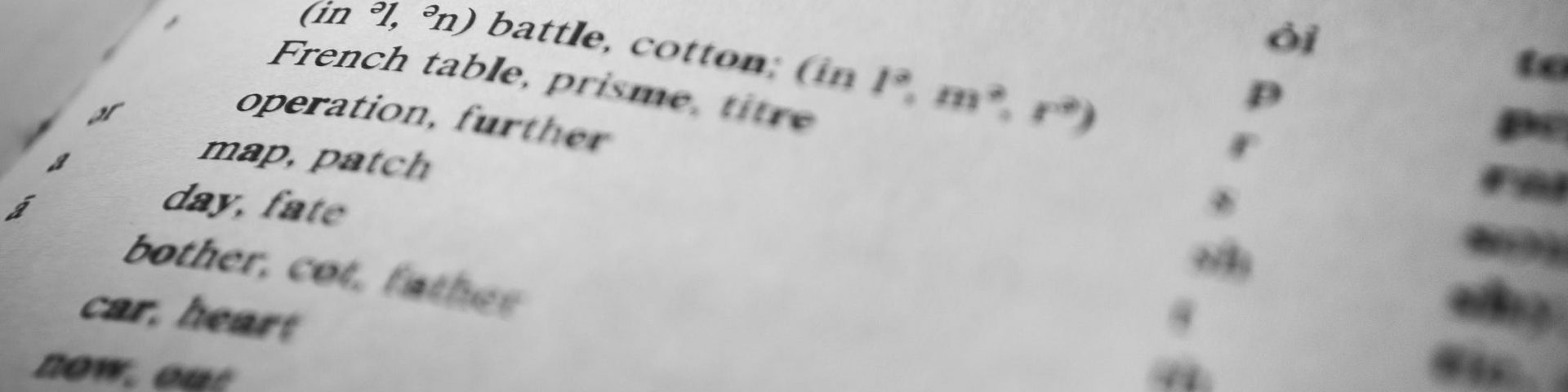 Engels woordenboek